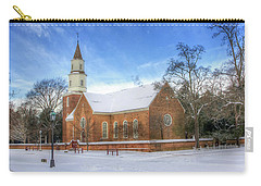 Bruton Parish In Winter II Carry-all Pouch
