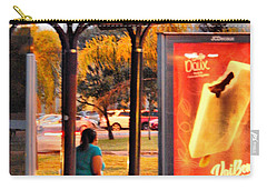 Bus Stop Carry-all Pouch by Beto Machado