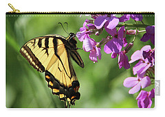 Butterfly Carry-all Pouch by David Stasiak