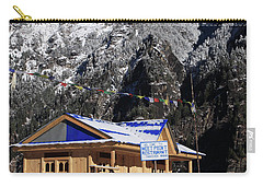 Meeting Point Mountain Restaurant Carry-all Pouch by Aidan Moran