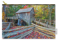 Cable Mill Carry-all Pouch by Geraldine DeBoer
