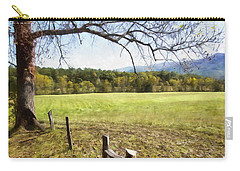 Cades Fence Carry-all Pouch by Ricky Dean