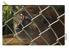 Caged Monkey Carry-all Pouch