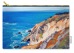 California Coastline Ridges Carry-all Pouch