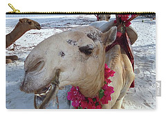 Camel On Beach Kenya Wedding3 Carry-all Pouch by Exploramum Exploramum