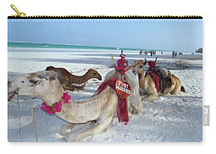 Camel On Beach Kenya Wedding4 Carry-all Pouch