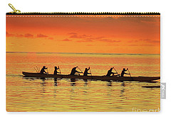 Canoe Practice Carry-all Pouch by Scott Cameron