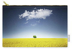 Canola Field Carry-all Pouch by Bess Hamiti
