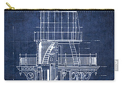 Cape Hatteras Lighthouse Blueprint  1869 Carry-all Pouch