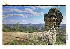 Capska Cudgel - Rock Formation Carry-all Pouch by Michal Boubin