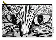 Cat Carry-all Pouch by Michelle Calkins