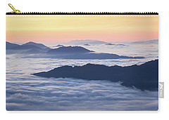 Cataloochee Valley Sunrise Carry-all Pouch by Serge Skiba