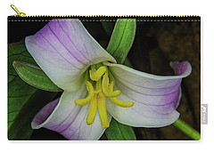 Catesby Trillium Carry-all Pouch by Barbara Bowen