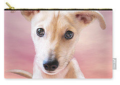 Carry-all Pouch featuring the mixed media Ceecee by Carol Cavalaris