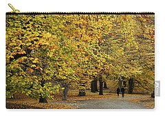 Central Park Gold Carry-all Pouch
