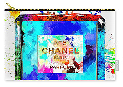 Chanel No. 5 Grunge Carry-all Pouch by Daniel Janda
