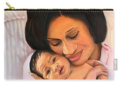 Chanelle And Kaycee Victoria Carry-all Pouch by Marlene Book