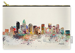 Charlotte North Carolina Skyline Carry-all Pouch