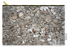 Carry-all Pouch featuring the photograph Charnel House by Michal Boubin
