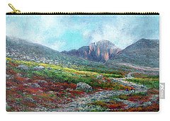 Chasm Lake Trail Carry-all Pouch by Jill Musser