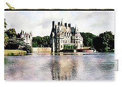 Carry-all Pouch featuring the photograph Chateau De La Bretesche, Missillac, France by Joseph Hendrix