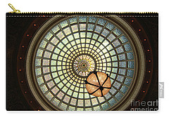 Chicago Cultural Center Dome Carry-all Pouch