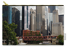 Chicago River Jet Ski Carry-all Pouch