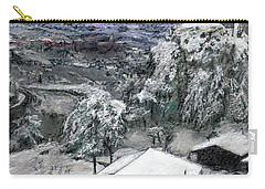 Chiesa San Vito In The Snow Carry-all Pouch