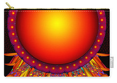 Carry-all Pouch featuring the digital art Children Of The Sun by Robert Orinski