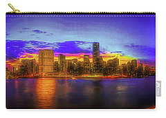 Carry-all Pouch featuring the photograph Chillin' At Gantry by Theodore Jones