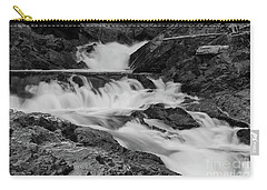 Carry-all Pouch featuring the photograph Chippewa Falls  by Rachel Cohen