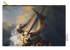 Christ In The Storm On The Lake Of Galilee Carry-all Pouch