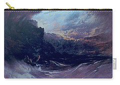 Christ Stilleth The Tempest Carry-all Pouch