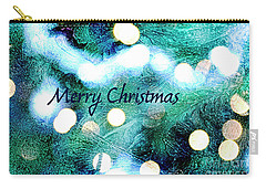 Christmas Background Carry-all Pouch by Patricia Hofmeester