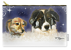 Christmas Doggies Carry-all Pouch