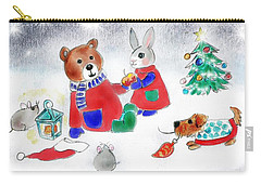 Christmas Friends Carry-all Pouch