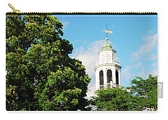 Church On The Hill Carry-all Pouch by James Kirkikis