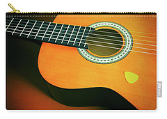 Carry-all Pouch featuring the photograph Classic Guitar  by Carlos Caetano