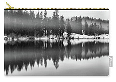 Carry-all Pouch featuring the photograph Clear Lake by Cat Connor