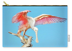 Spoonbill Cleared For Takeoff Carry-all Pouch