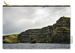 Carry-all Pouch featuring the photograph Cliffs Of Moher From The Sea by RicardMN Photography