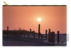 Carry-all Pouch featuring the photograph Closing The Day by Arik Baltinester