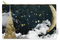 Cloud Cities New York Carry-all Pouch by Mindy Sommers