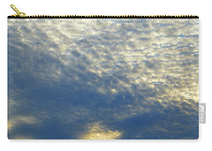 Carry-all Pouch featuring the photograph Clouds Above  by Lyle Crump