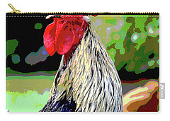 Cock A Doodle Doo Carry-all Pouch by Charles Shoup