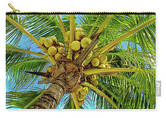 Coconuts In Tree Carry-all Pouch