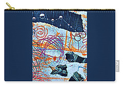 Collage Details Carry-all Pouch