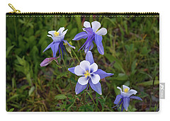 Colorado Columbine Carry-all Pouch by Steve Stuller