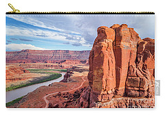 Colorado River And Chicken Corner Trail  Carry-all Pouch
