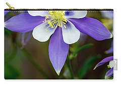 Colorado State Flower Blue Columbines Carry-all Pouch